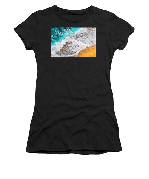Waves Abstract Women's T-Shirt