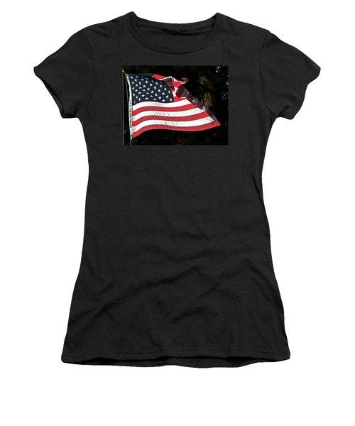 Waving Flag Women's T-Shirt