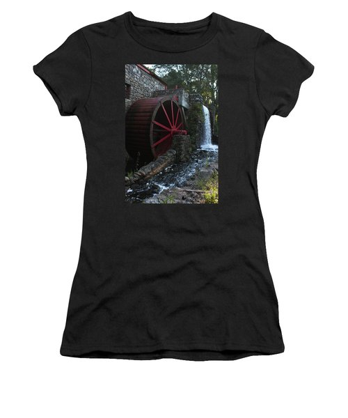 Wayside Inn II Women's T-Shirt (Junior Cut) by Suzanne Gaff