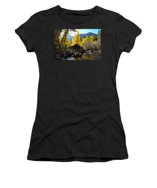 West Fork Of The Carson River Women's T-Shirt (Athletic Fit)