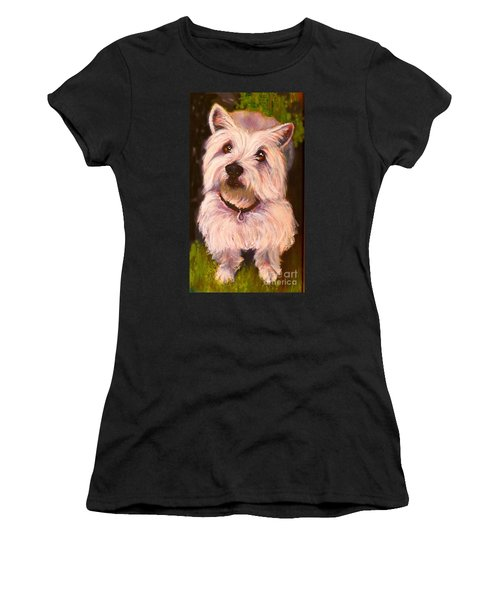 West Highland Terrier Reporting For Duty Women's T-Shirt (Athletic Fit)