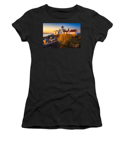 West Point Lighthouse Women's T-Shirt (Athletic Fit)