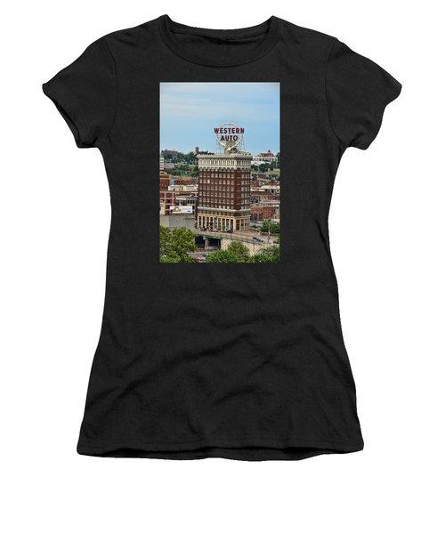 Western Auto Building Women's T-Shirt