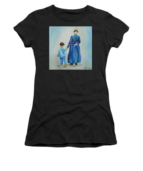 Westfriese Woman And Boy Women's T-Shirt (Athletic Fit)