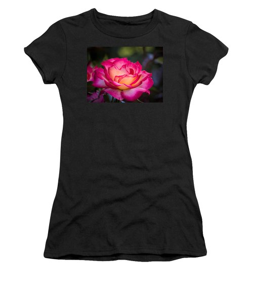 Women's T-Shirt (Junior Cut) featuring the photograph When It's Love by Patricia Babbitt