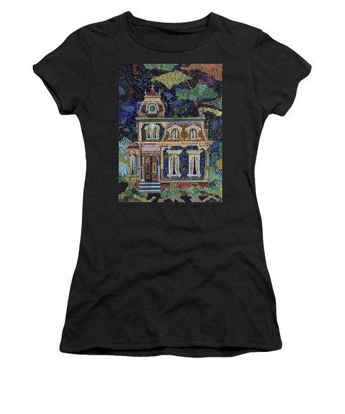 When The Lights Go Out Women's T-Shirt (Junior Cut) by Erika Pochybova