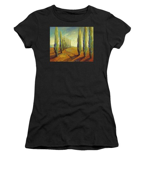 Where Evening Begins 1 Women's T-Shirt