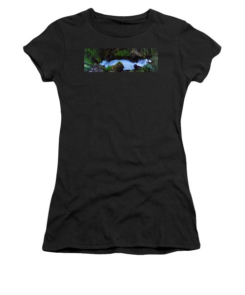 Women's T-Shirt (Junior Cut) featuring the photograph Which Way by David Andersen