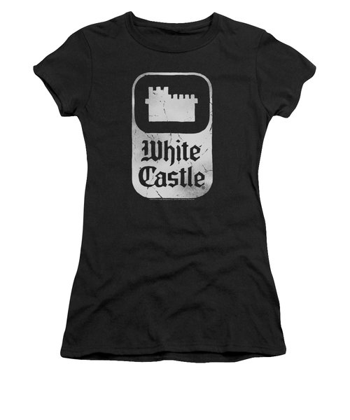 White Castle - Classic Logo Women's T-Shirt (Athletic Fit)
