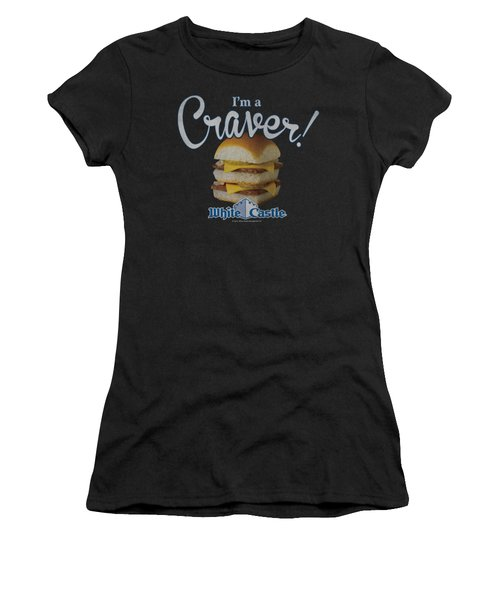 White Castle - Craver Women's T-Shirt (Athletic Fit)