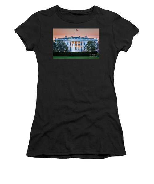 White House Women's T-Shirt (Athletic Fit)
