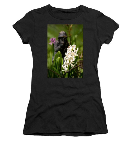 White Hyacinth In The Garden Women's T-Shirt