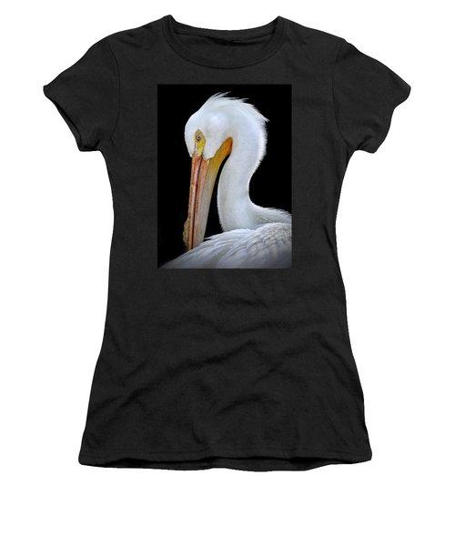 White Pelican Women's T-Shirt (Athletic Fit)