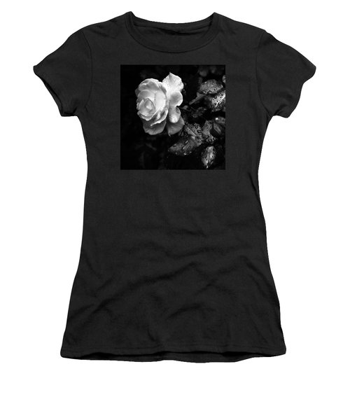White Rose Full Bloom Women's T-Shirt