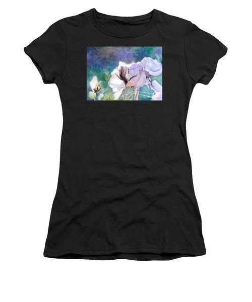 White Roses In The Shade Women's T-Shirt