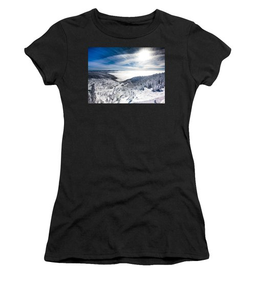 Whitefish Inversion Women's T-Shirt (Athletic Fit)