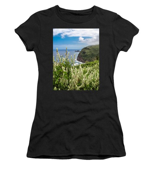 Wild Flowers At Pololu Women's T-Shirt (Athletic Fit)