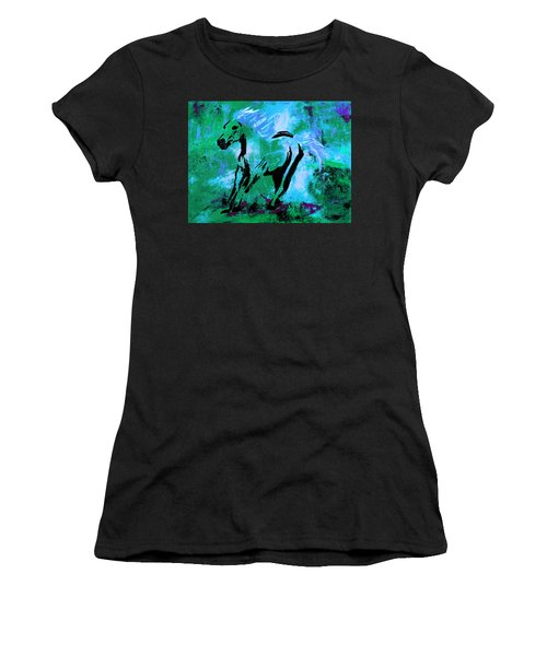 Wild Midnight Women's T-Shirt (Athletic Fit)