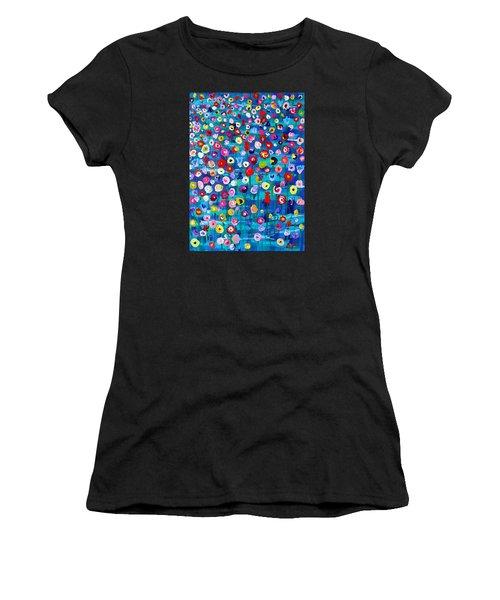 Wildflower Fiesta Women's T-Shirt (Athletic Fit)