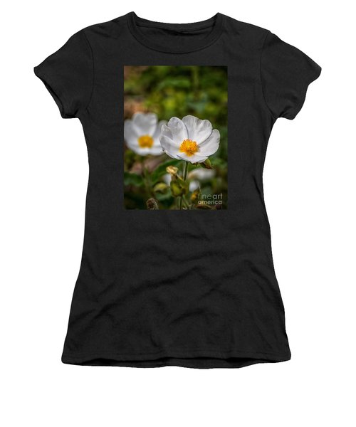 Wildflower Poppin Women's T-Shirt (Athletic Fit)