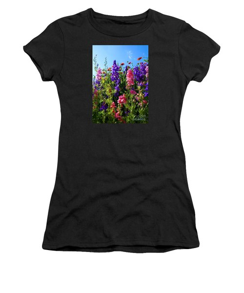 Wildflowers #14 Women's T-Shirt (Athletic Fit)