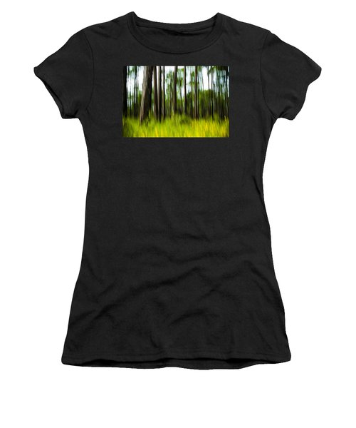 Wildflowers In The Forest Women's T-Shirt