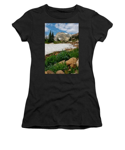 Wildflowers In The Indian Peaks Wilderness Women's T-Shirt