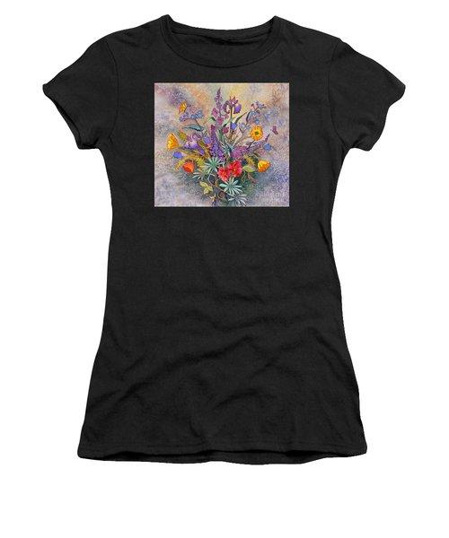 Wildflowers Of Alaska II Women's T-Shirt (Athletic Fit)