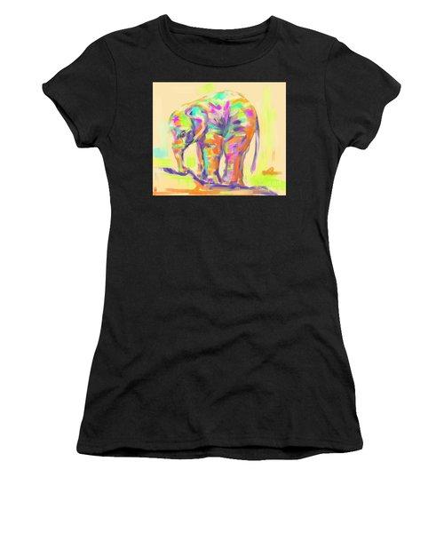 Wildlife Baby Elephant Women's T-Shirt