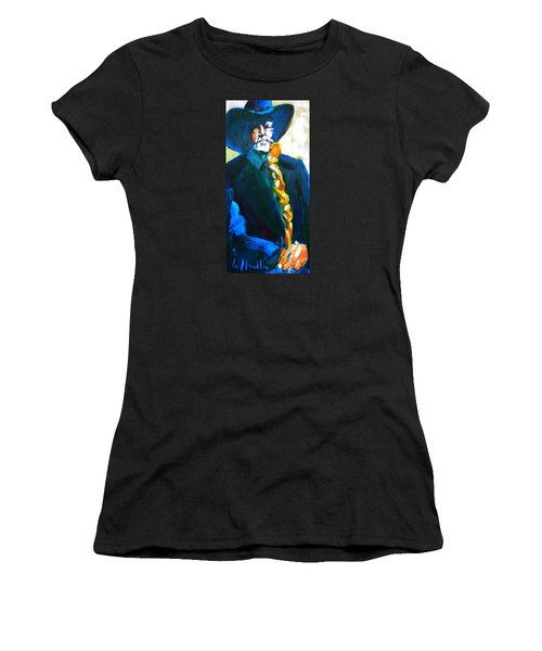 Willie Women's T-Shirt (Junior Cut) by Les Leffingwell