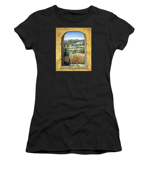 Wine And Poppies Women's T-Shirt