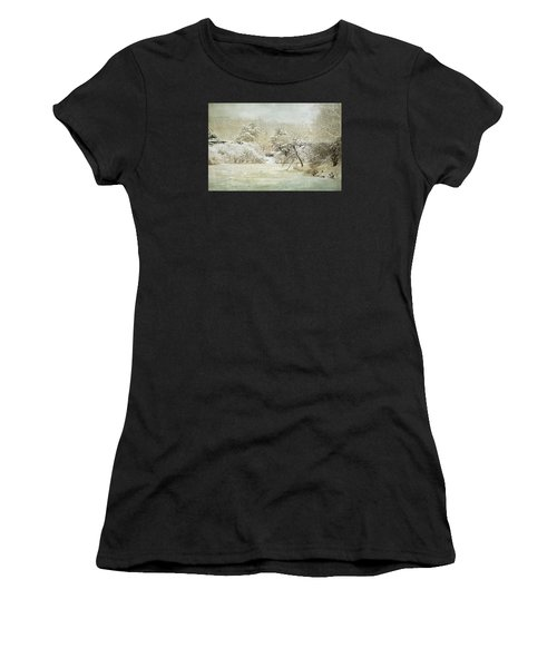 Winter Silence Women's T-Shirt (Athletic Fit)
