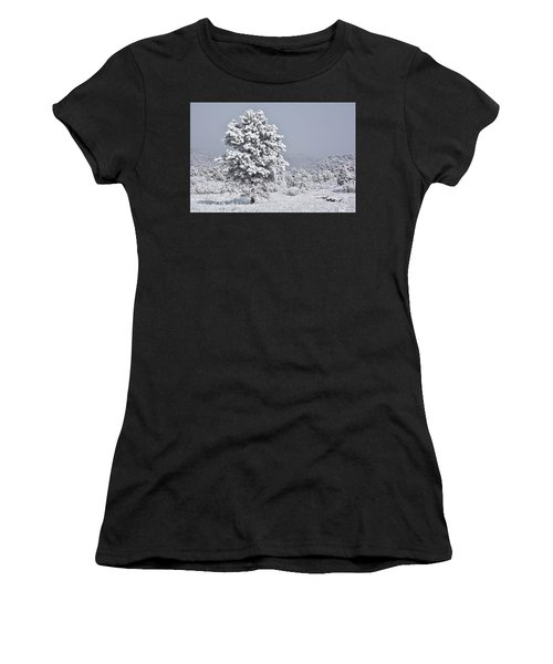 Winter Solitude Women's T-Shirt (Athletic Fit)