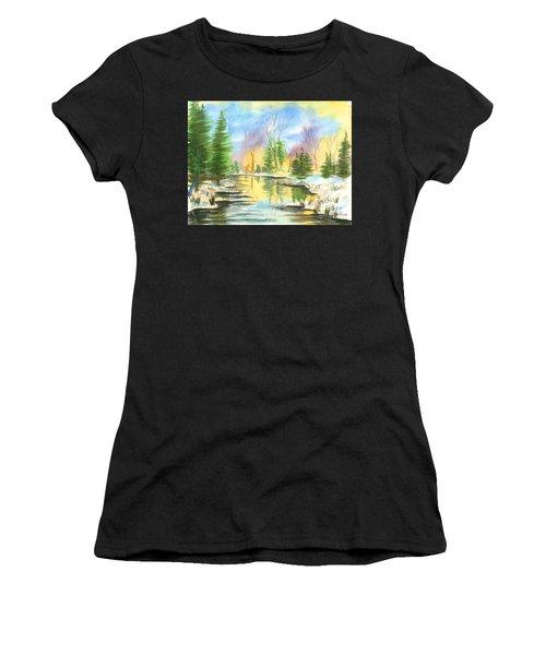 Winter Stillness Women's T-Shirt
