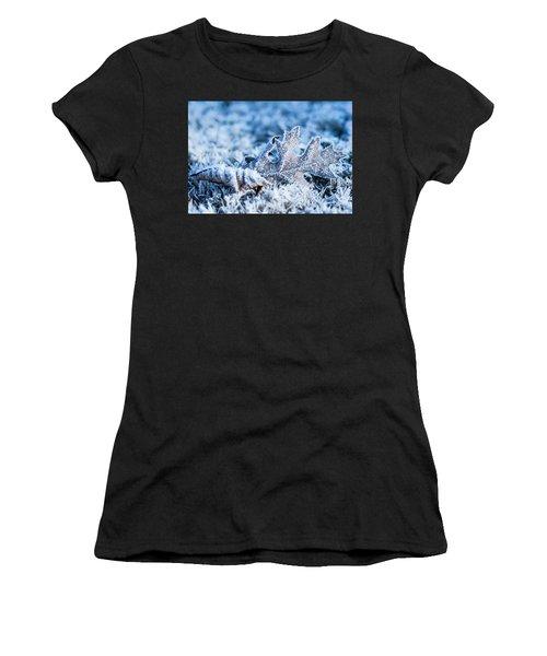Winter's Icy Grip Women's T-Shirt