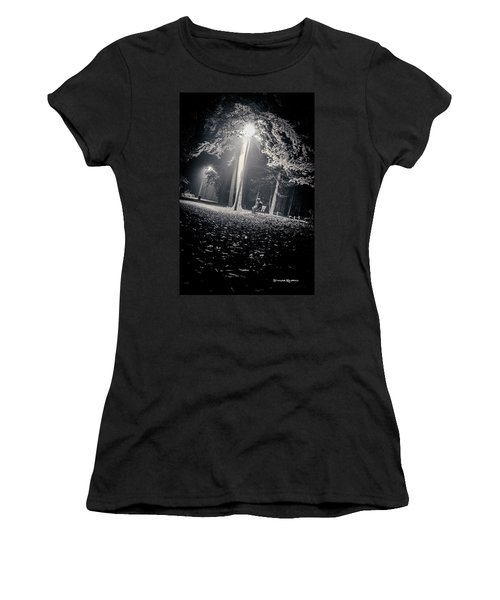 Women's T-Shirt featuring the photograph Wish You Were Alone by Stwayne Keubrick