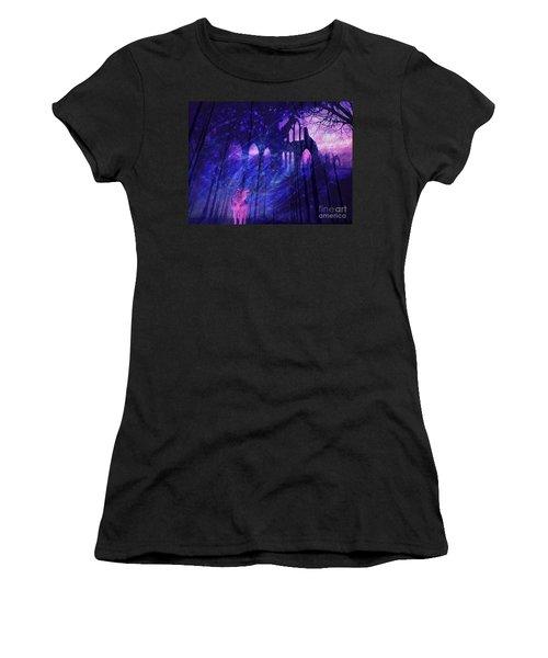 Wolf And Magic Women's T-Shirt