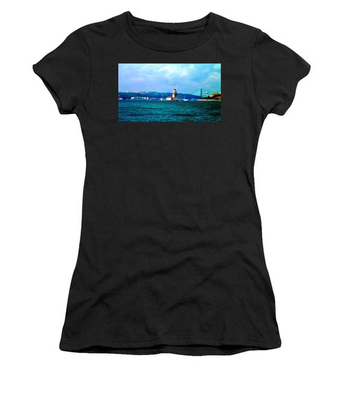 Wonders Of Istanbul Women's T-Shirt (Athletic Fit)