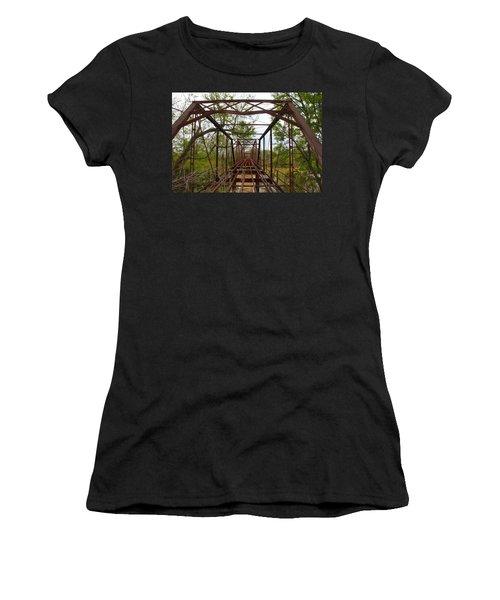Woodburn Bridge Indianola Ms Women's T-Shirt (Athletic Fit)