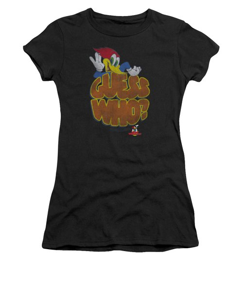 Woody Woodpecker - Guess Who Women's T-Shirt (Athletic Fit)