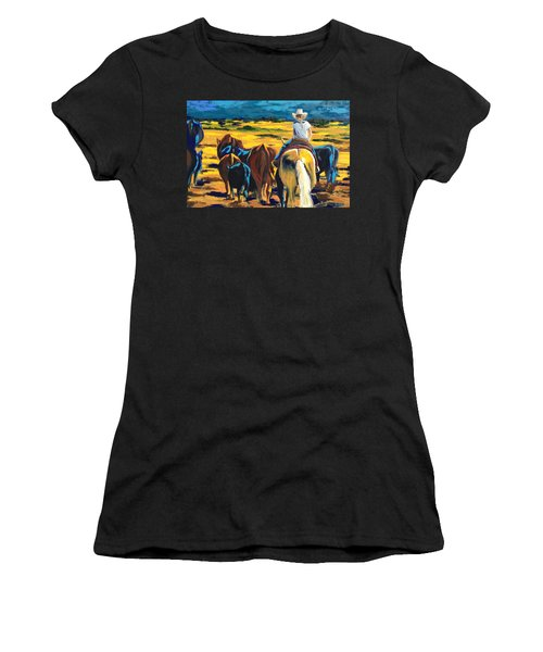 Working Girl Women's T-Shirt (Athletic Fit)