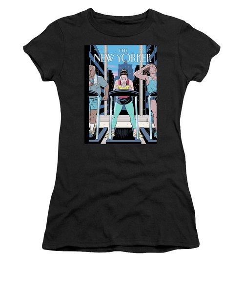 Workout Reading Women's T-Shirt