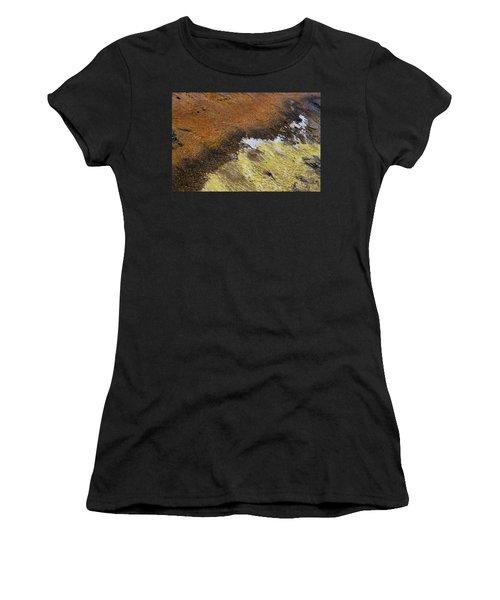 Yellow And Orange Converging Women's T-Shirt