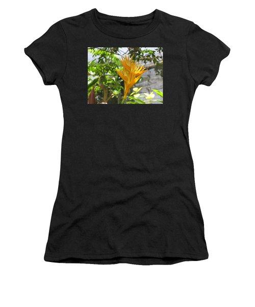 Yellow Bird Of Paradise Women's T-Shirt