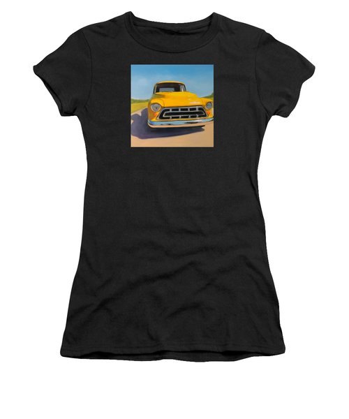 Yellow Chevy Women's T-Shirt (Athletic Fit)