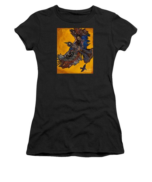 Yellow Crow Women's T-Shirt (Athletic Fit)