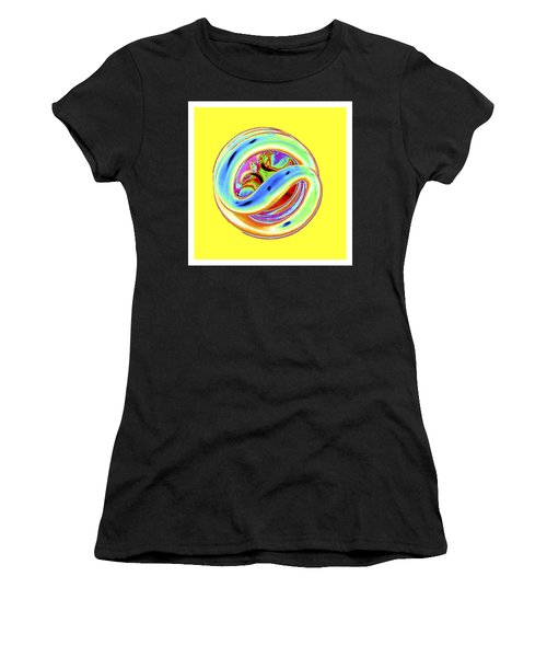 Yellow Fluorescent Women's T-Shirt
