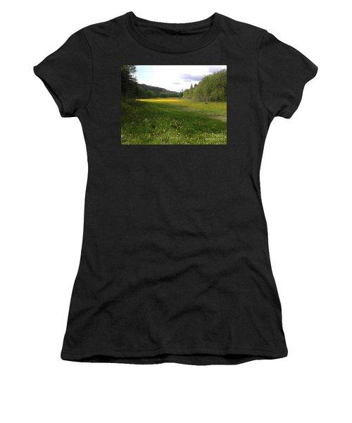 Yellow Meadow Women's T-Shirt