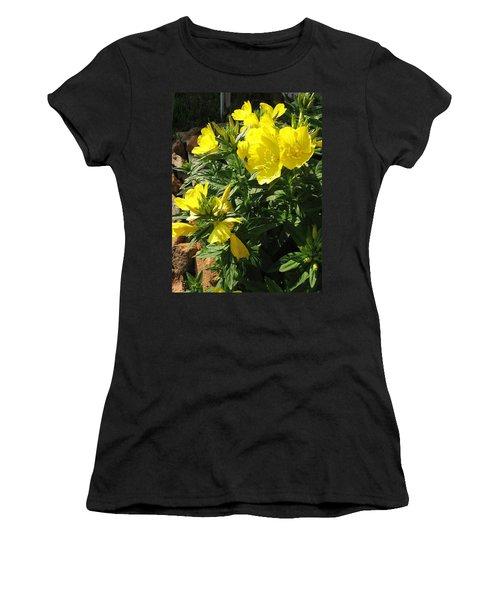 Yellow Primroses Women's T-Shirt