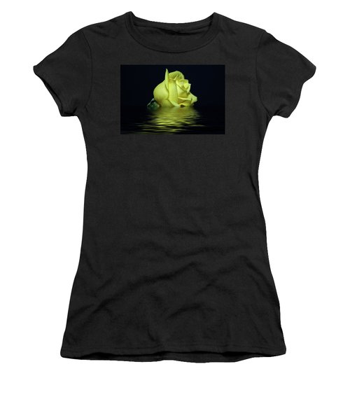 Yellow Rose II Women's T-Shirt (Athletic Fit)